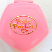 Bluebird Toys Polly Pocket  Miniature Intricate Play Set In A Case