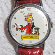 Buster Brown & Tighe Wrist Watch Manual Wind Works