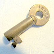 Indiana Harbor Belt Brass Switch Key