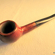 Large Apple Bowl Billiard Tobacco Pipe Free Shipping