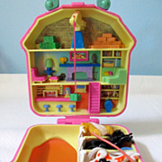 Bluebird Poly Pocket Tiny Play Set With Horse Shoe Handle