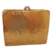 Vintage Whiting and Davis Gold Mesh Wallet