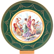 Gorgeous Cabinet Plate Ginori Cupid Angel Beautiful Women