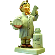 The Little Pharmacist by Hummel/Goebel German Variation #322