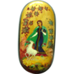 Kholui Handpainted Legend Box Russian Lacquer Papier Mache &quot;Alyonushka and her Brother Ivanushka&quot;