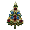 Eisenberg Ice Swarovski Crystal Christmas Tree Pin