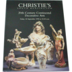 Christie's 1998 Catalog of 20th Century Continental Decorative Arts