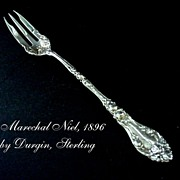 Antique Sterling Silver Marechal Niel 1896 Fork by Durgin