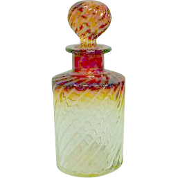 "Baccarat 8 1/2"" Rose Tiente Scent or Perfume Bottle"