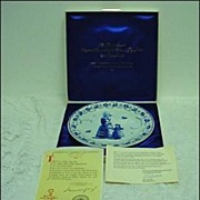 Royal Delft De Porceleyne Fles 1971 LE Mother's Day Plate