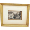 T. Allom 19th Century Steel Engraving A Street in Canton from China Illustrated