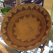 Circa 1900 Navajo 15 Inch  Wedding  Basket