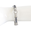 Spectacular Vintage Lady�s Red Carpet 18K Diamond & Sapphire Bracelet