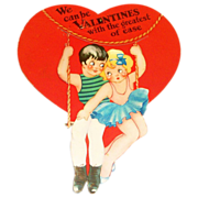 SALE The Fairfield Line: Mechanical Circus Trapeze Valentine