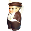 Goebel 1950s Mr. Pickwick Small Handpainted Porcelain Toby - Marked