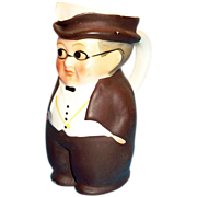 SALE Goebel 1950s Mr. Pickwick Small Handpainted Porcelain Toby - Marked