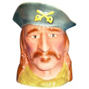SALE PY: William MacLean: Gen. George Custer Toby Mug - Marked