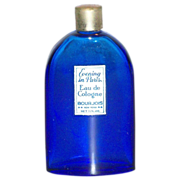 Evening in Paris Eau de Cologne Cobalt Blue Glass Bottle - Marked