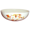 "Hall: Autumn Leaf (Jewel Tea) 9"" Rd.Porcelain Serving Bowl - Marked"