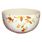 "Hall: Autumn Leaf (Jewel Tea) 9"" Rd. Mixing Bowl - Marked"