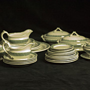 Childhood Childrens Staffordshire Tea Set Dinnerware