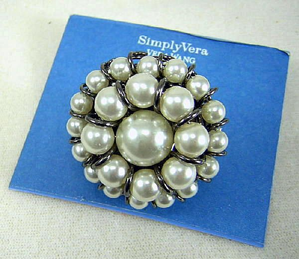 Pretiier With Pearls Ring NEW! from thecontemporarytabletop on Ruby Plaza :  pearl fashion affordable jewelry