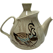 SALE Red Wing Bob White Teapot