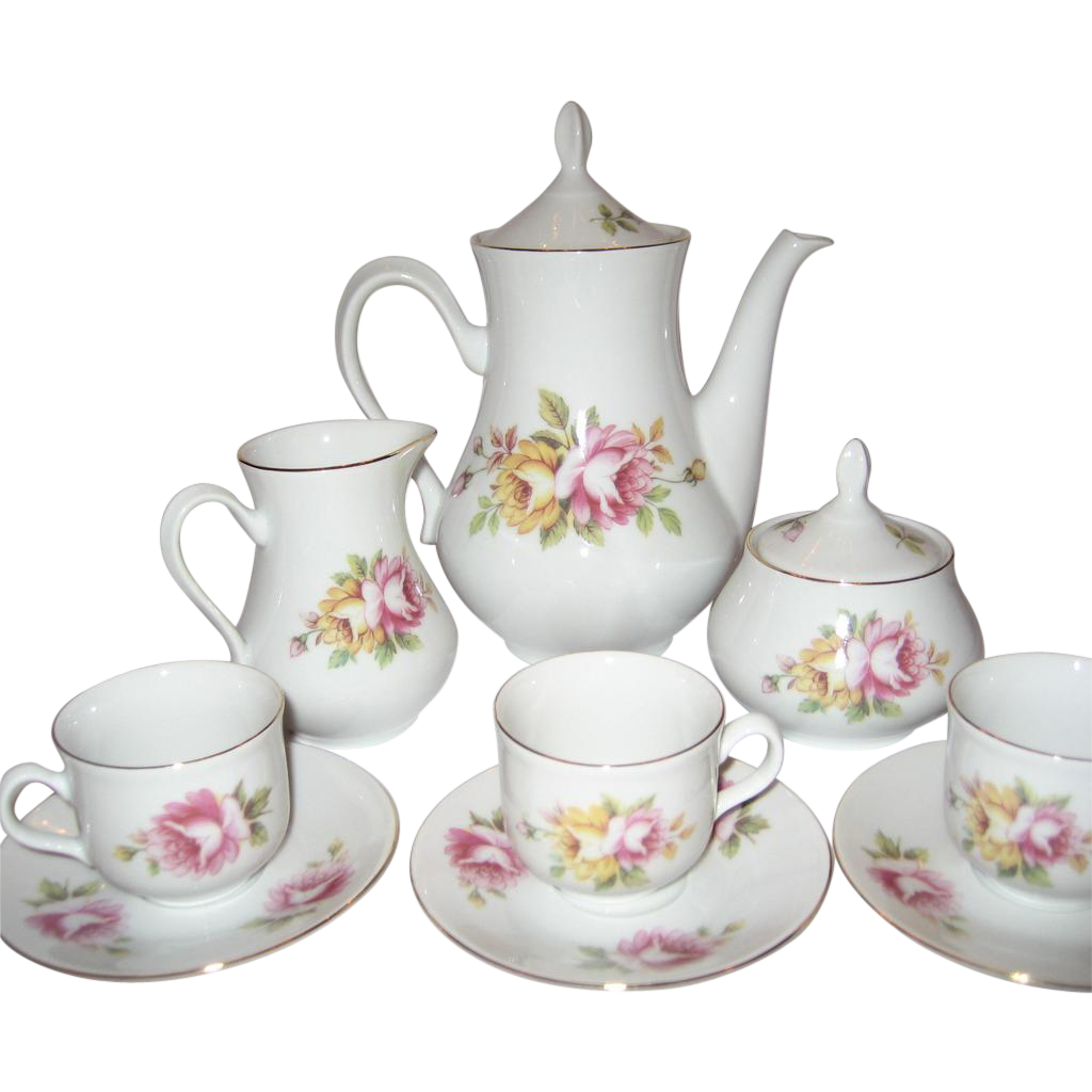 Thun 11 Piece Coffee Set from thedaisychain on Ruby Lane