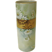 SALE Gerold Porzellan Cylindrical Vase - Western Germany