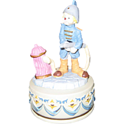 "Glama ""Little Fireman"" Music Box - It's A Small World"