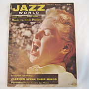 Jazz World Magazine - First Issue - March, 1957 - Free Shipping