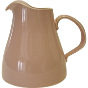 SALE Pink USA Pottery Pitcher - Ice Lip
