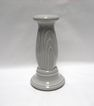 Homer Laughlin Fiesta Gray Candle Holder - Discontinued