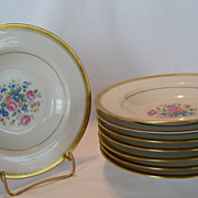 Theodore Haviland New York Windsor Rimmed Soup Bowls