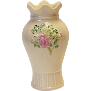 SALE Belleek Floral Vase