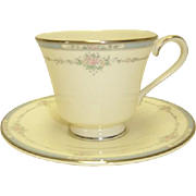 SALE Royal Doulton Lisa Cup and Saucer