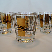 Set of 8 Bar Glasses - Engineering or Survey Theme