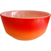 Colorful Fire King 6� Mixing Bowl, Ca. 1965