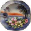 Stunning Noritake Hand Painted Pedestal Bowl, Ca. 1930