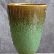 Cowan Pottery Chalice Vase #807, Antique Green, Ca. 1928