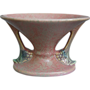 Roseville Pottery Tuscany Vase #67-4, Pink, Ca. 1928