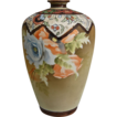 Noritake Nippon 9 Matte Floral Vase