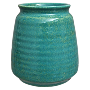Cowan Pottery Vase #V-34, Azure, Ca. 1930
