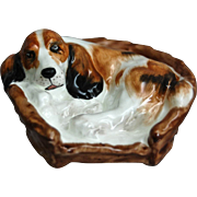 "Royal Doulton Figurine, �Cocker Spaniel in a Basket"", HN 2585"
