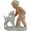 Schaubach Kunst Porcelain Figurine, �Boy With Lamb�, c 1940�s