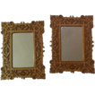 "Pair L. 19th C. ""Scrollsaw"" (FRETWORK) Frames"