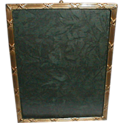 FRENCH BRONZE Gold-Plated Picture Frame