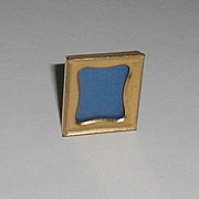POSTAGE Stamp Brass Picture Frame