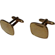 "Vintage  ""Correct Quality""  Krementz  GOLD-FILLED  Men's Cufflinks"