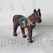 REDUCED Hubley Cast Iron Toy Horse,  Original Paint